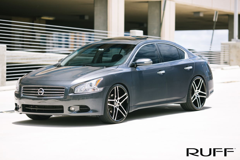 Ruff Ruff Wheels on Nissan Maxima