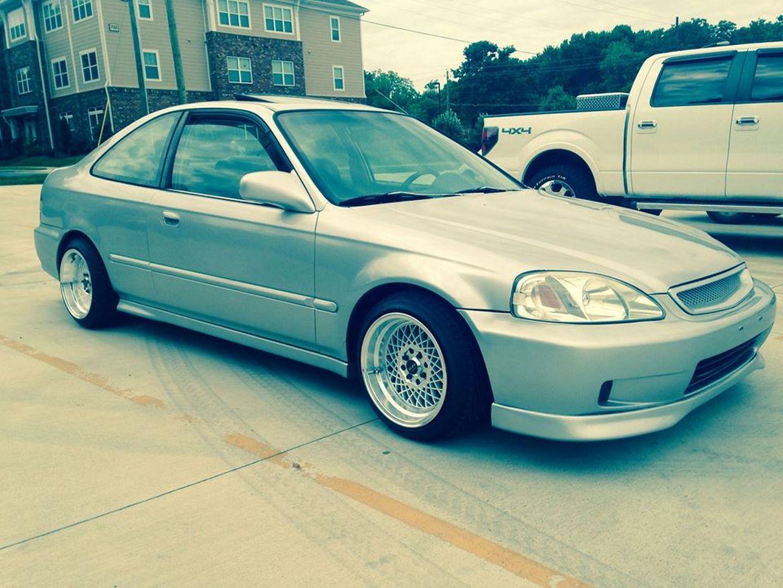 Ruff Ruff Wheels on Honda Civic