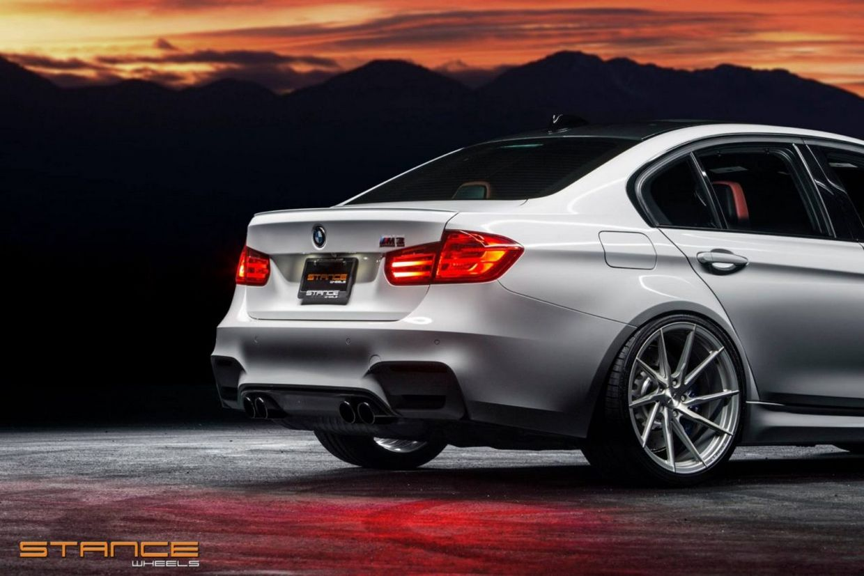Stance SF01 on BMW M3
