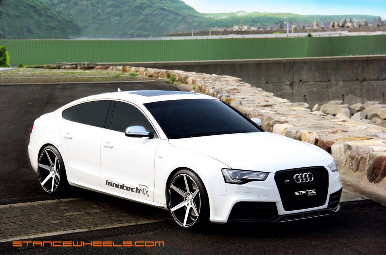 Stance SC6 on Audi S5