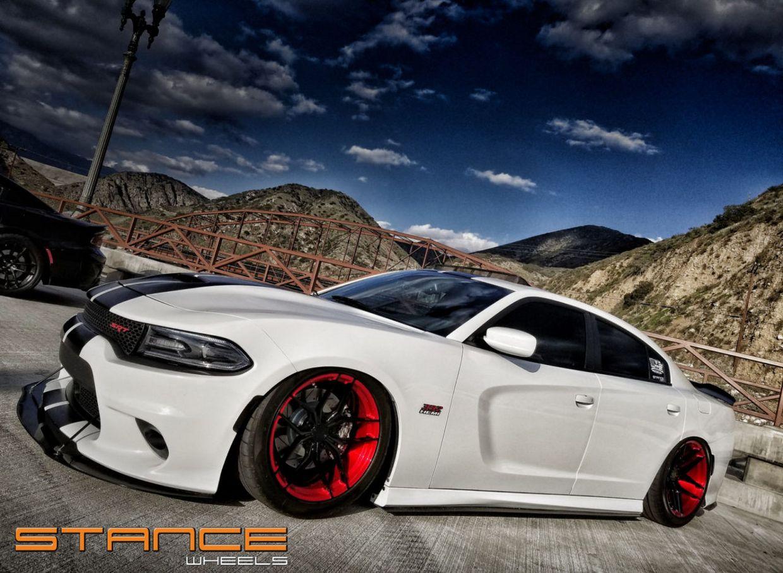 Stance SF03 on Dodge Charger SRT