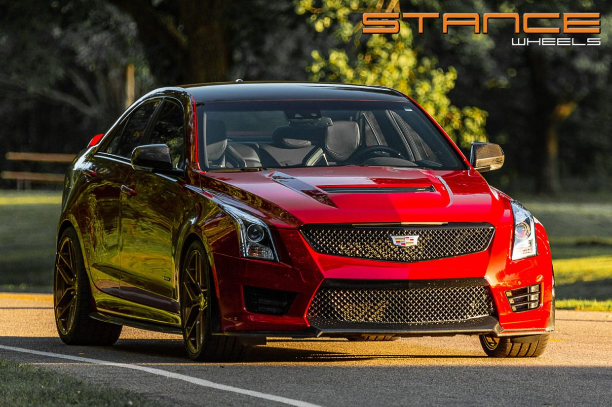 Stance SF03 on Cadillac ATS V
