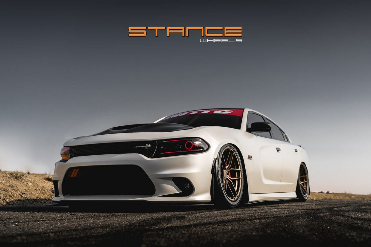 Stance SF03 on Dodge Charger