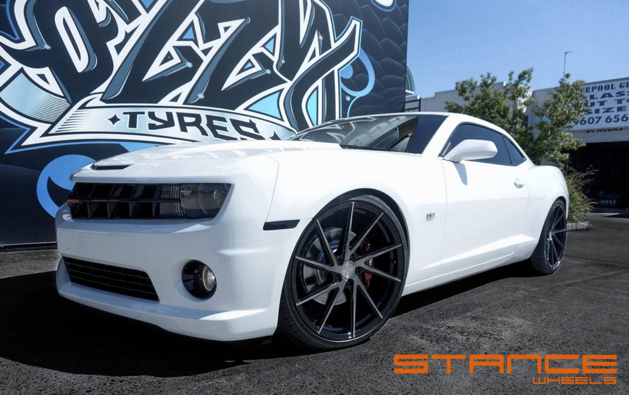 Stance SF01 on Chevy Camaro