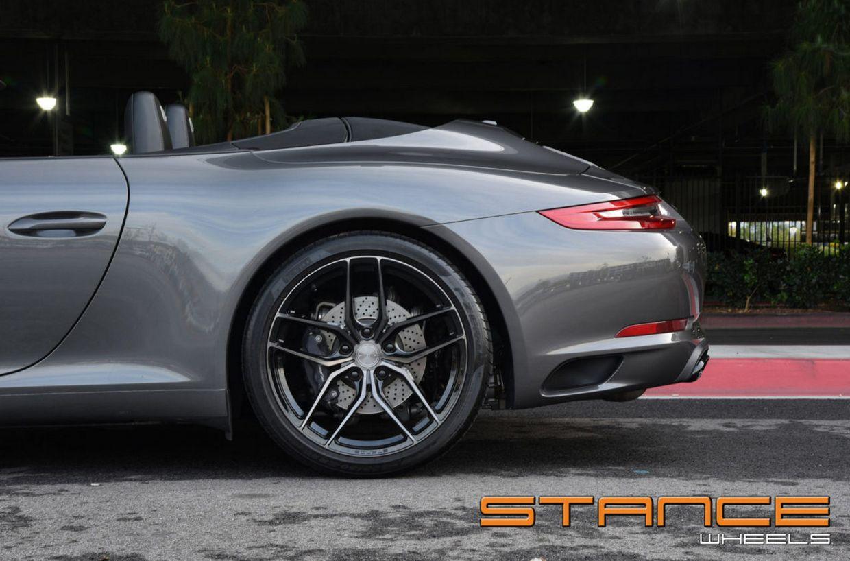 Stance SF03 on Porsche 911 S