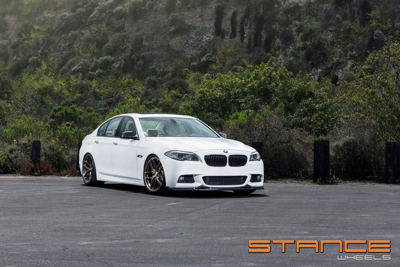 Stance SF03 on BMW F10