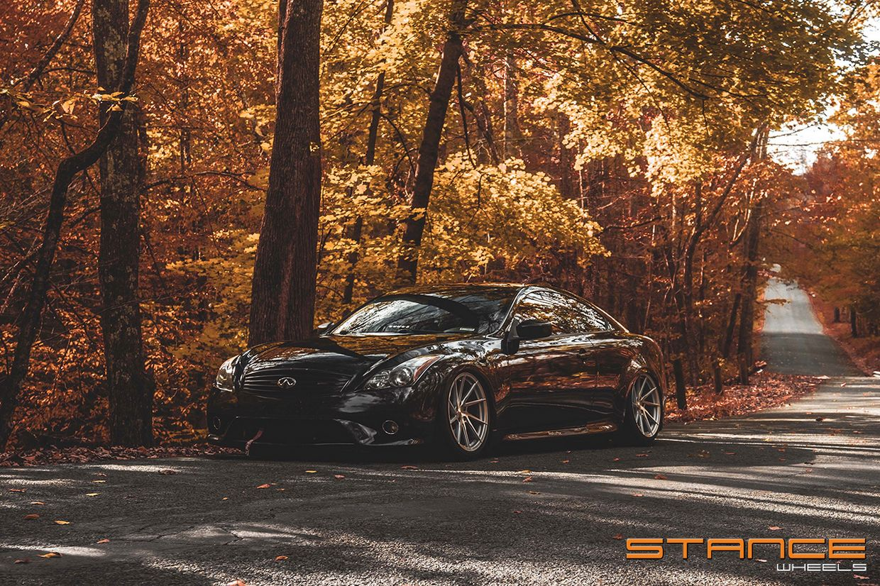 Stance Stance SF01 Brushed Silver on Infiniti G37S