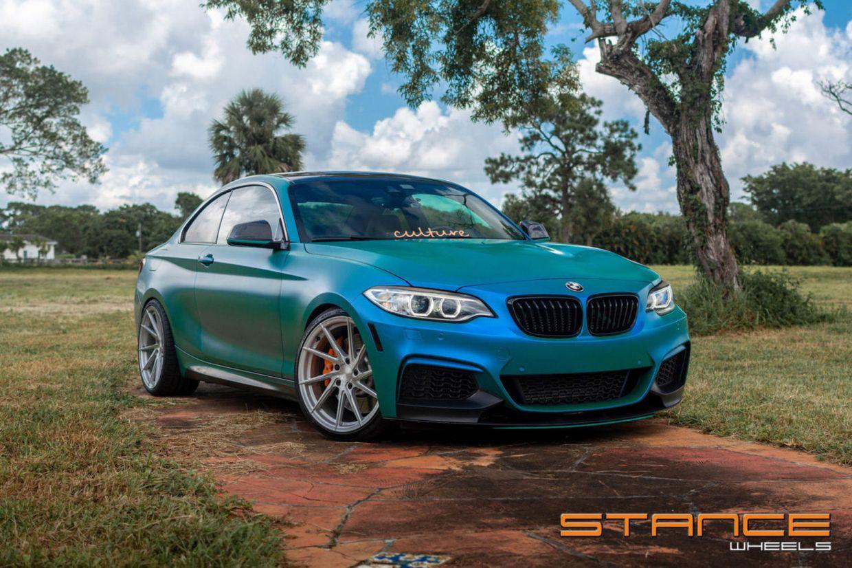 Stance SF01 on BMW 230