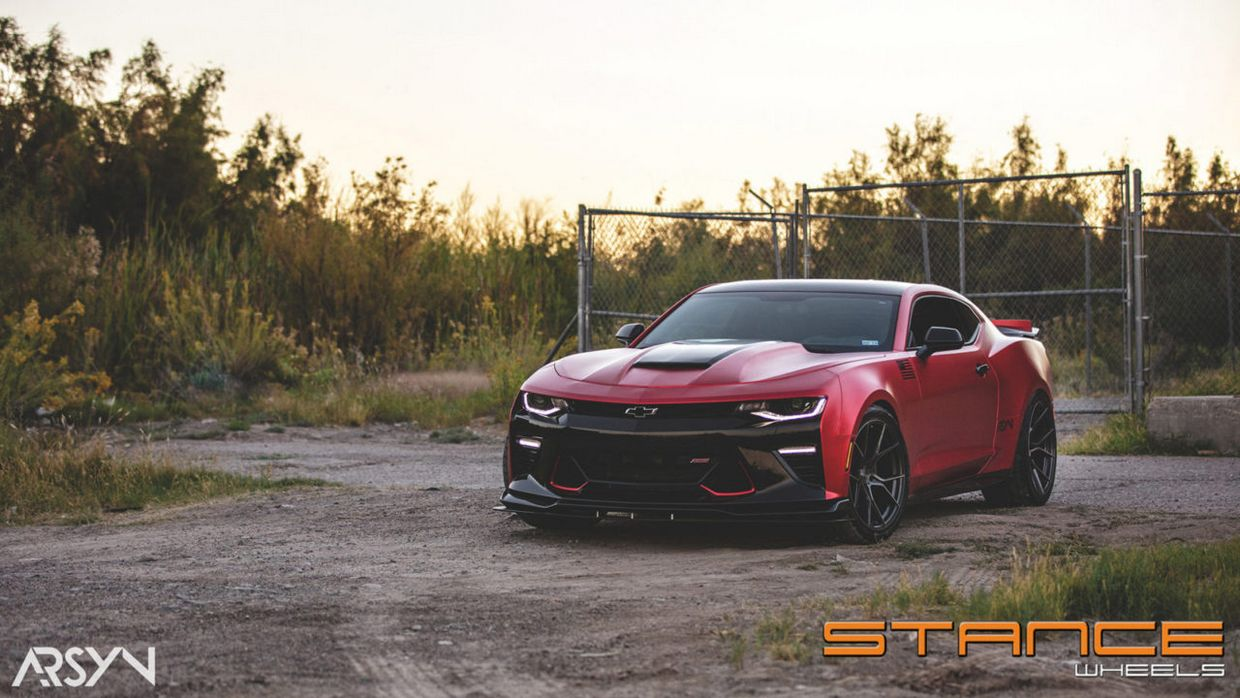 Stance SF07 on Chevy Camaro