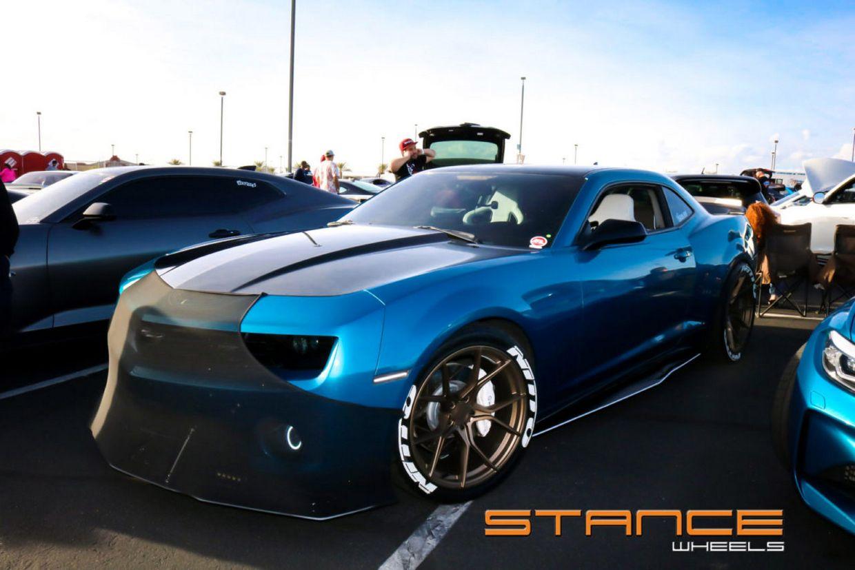Stance SF07 Bronze on Chevy Camaro