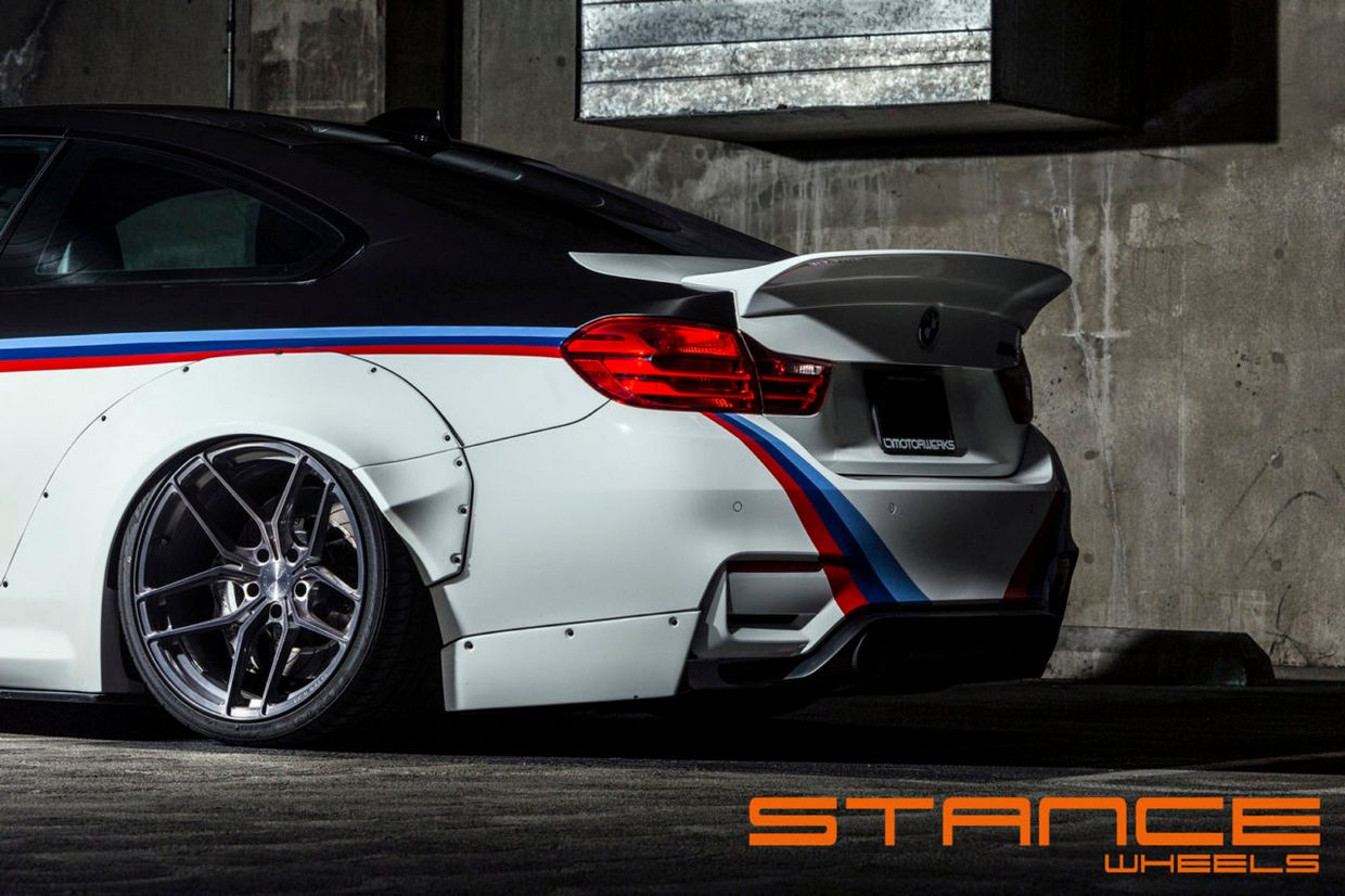 Stance SF03 on BMW M4