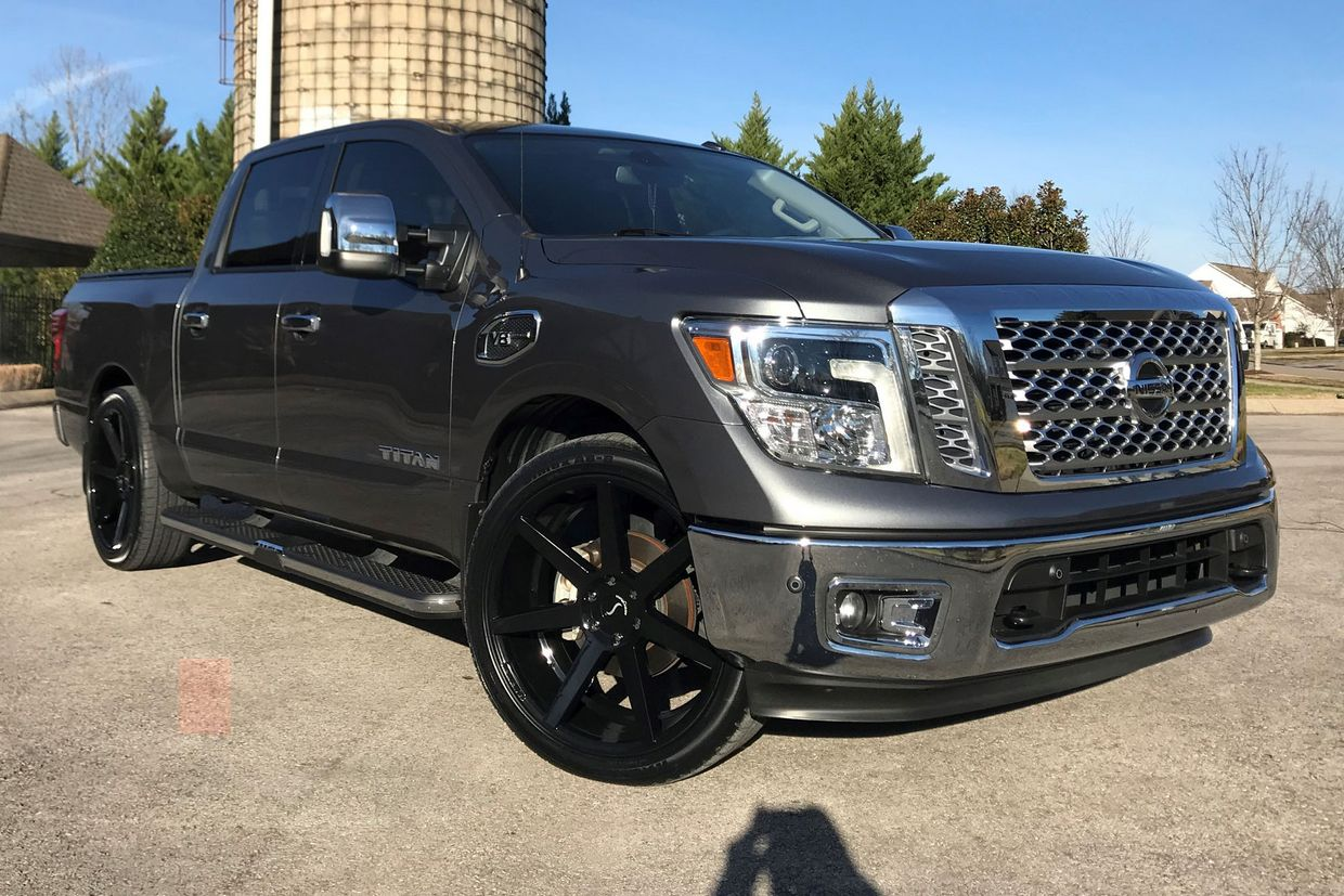 Status Status Journey Wheels on Nissan Titan