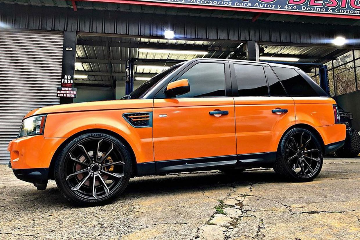 Status Status Mastadon Wheels on Land Rover Range Rover Sport