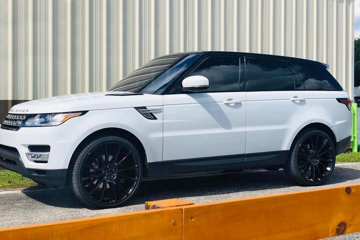 Status Status Goliath Wheels on Land Rover Range Rover Sport