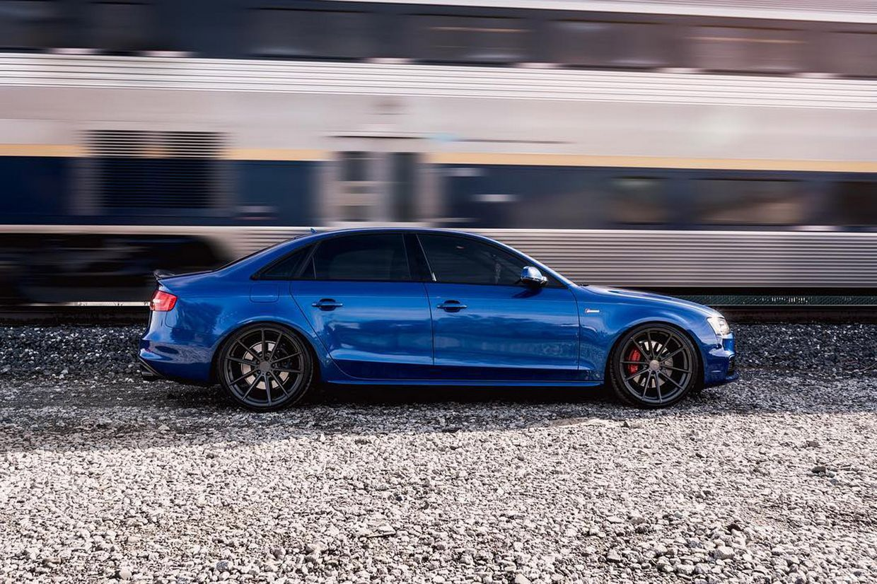 TSW Tsw Bathurst Wheels on Audi S4