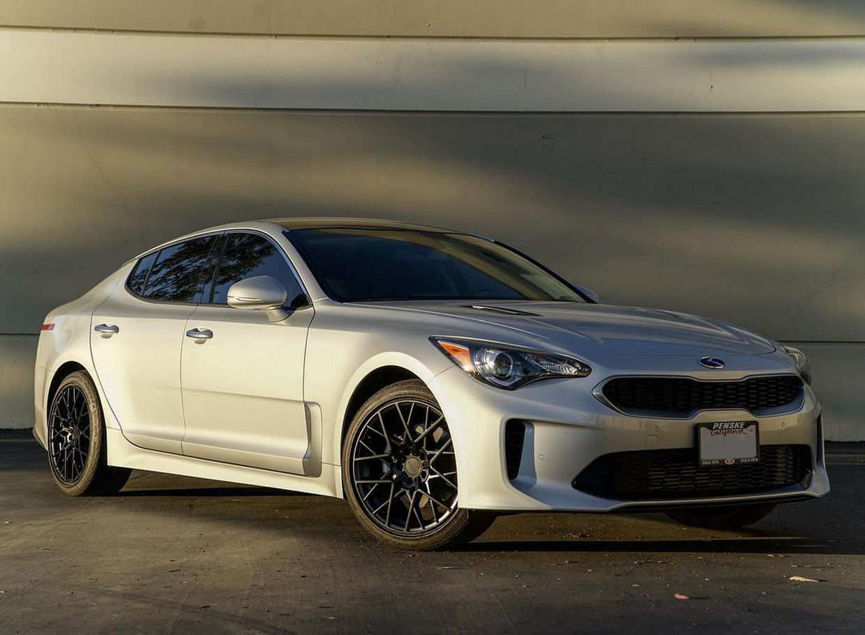 TSW Tsw Sebring Wheels on Kia Stinger