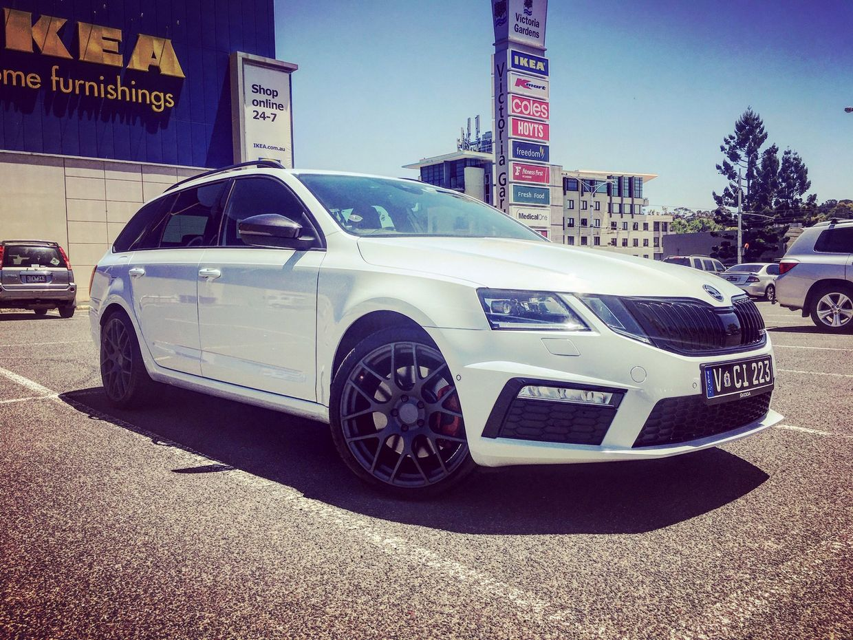 TSW Tsw Nurburgring Wheels on Skoda Octavia