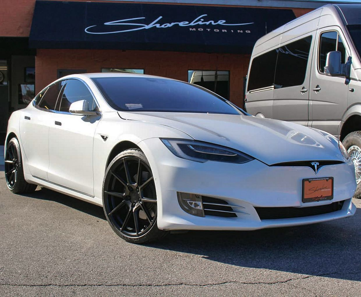 TSW Tsw Chrono Wheels on Tesla Model S