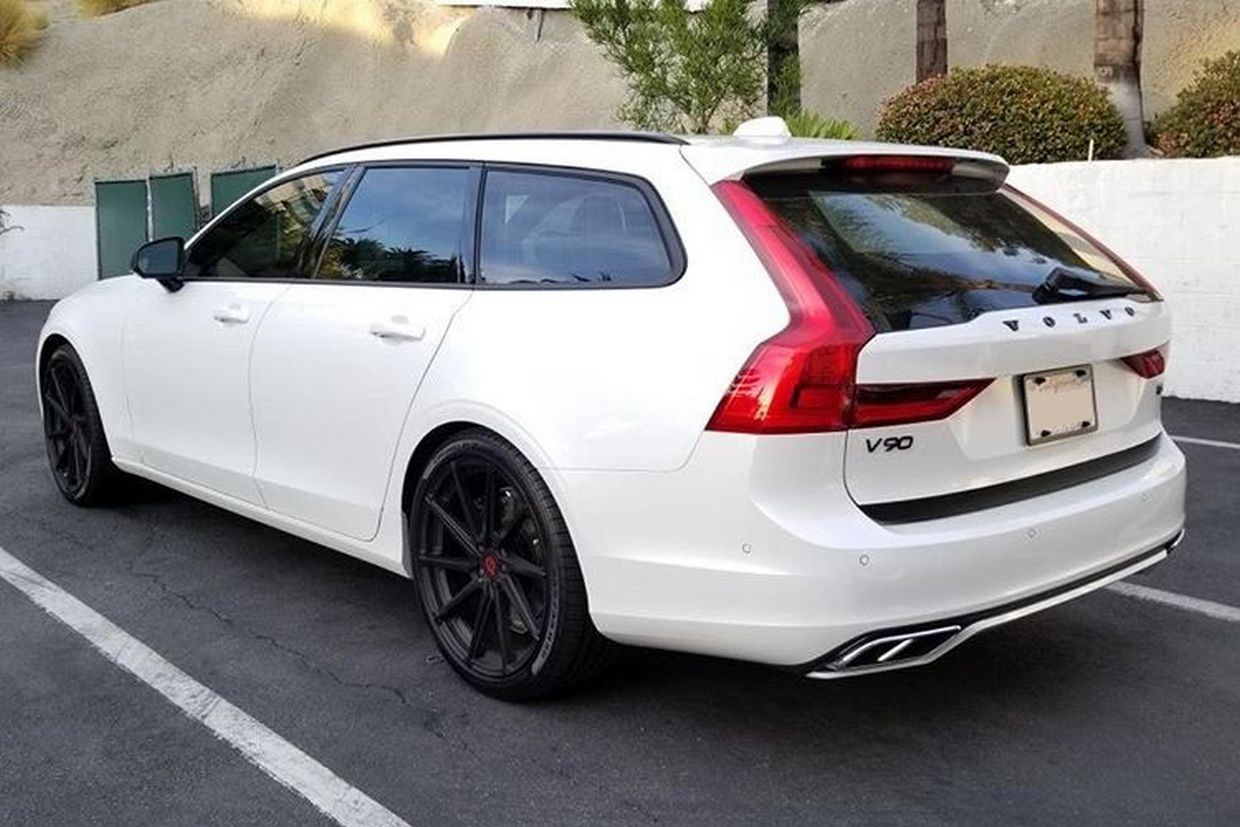 TSW Tsw Watkins Wheels on Volvo V90