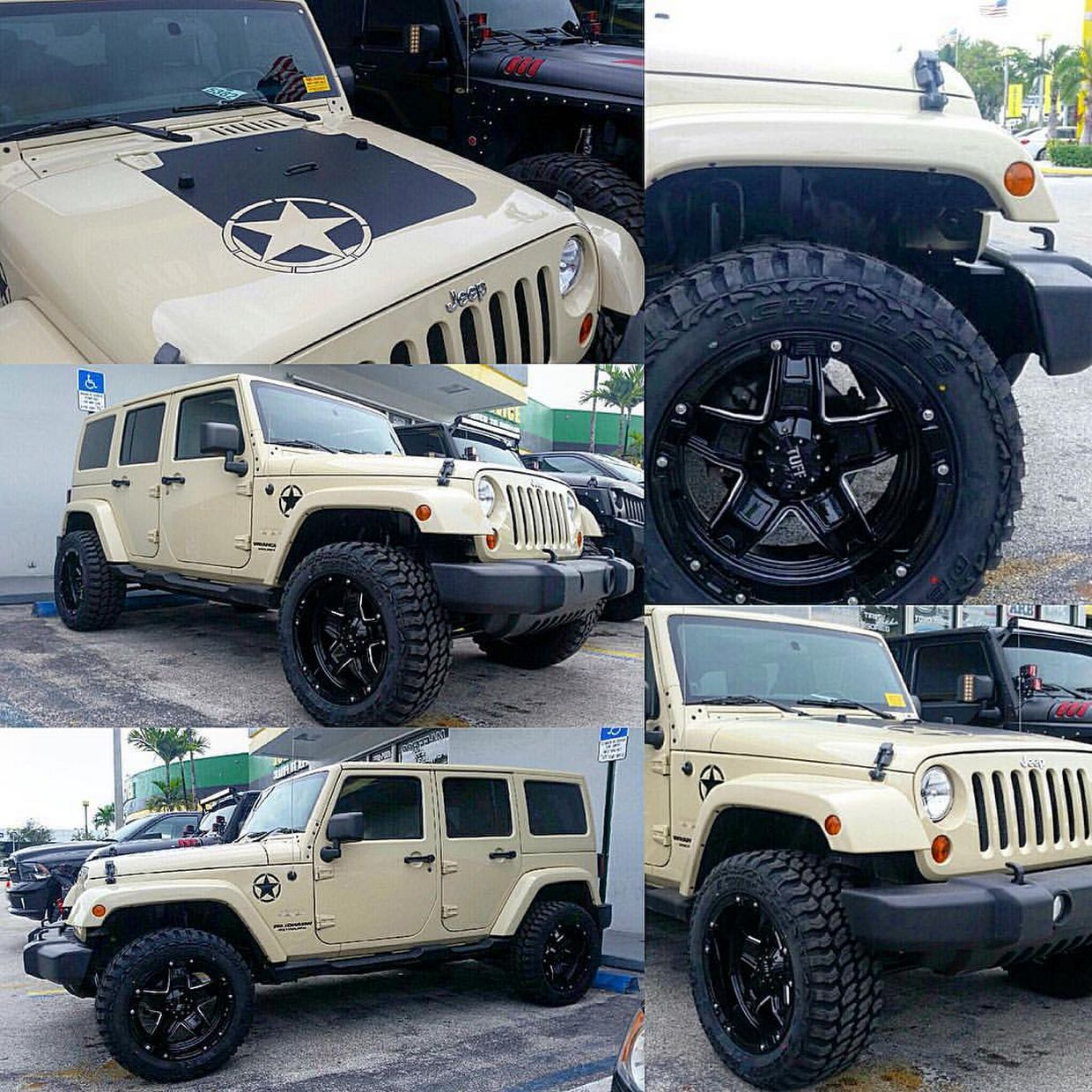 Tuff Tuff T10 Wheels on Jeep Wrangler