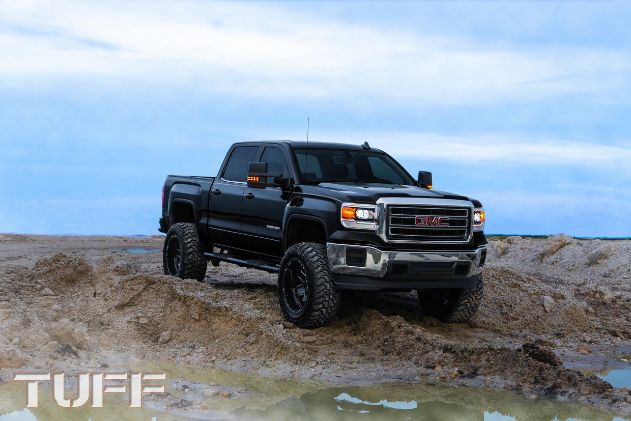 Tuff Tuff T10 Wheels on GMC Sierra