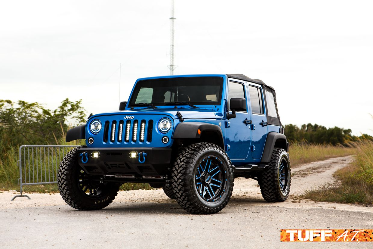 Tuff Tuff T17 Wheels on Jeep Wrangler