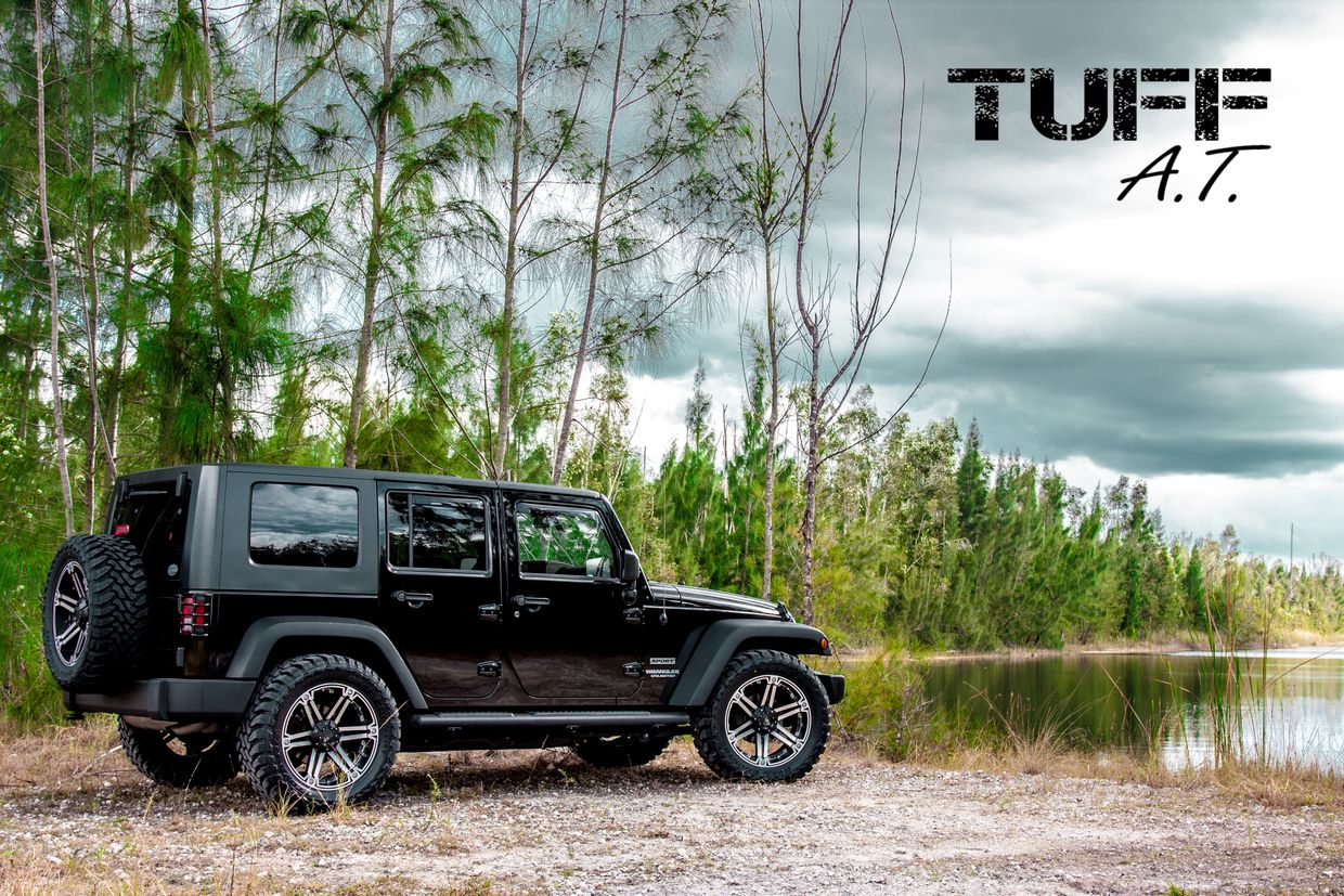 Tuff Tuff T01 Wheels on Jeep Wrangler