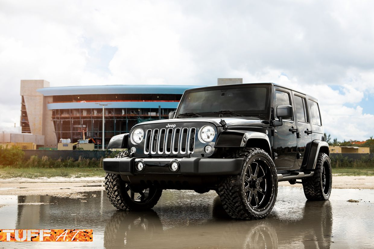Tuff Tuff T15 Wheels on Jeep Wrangler