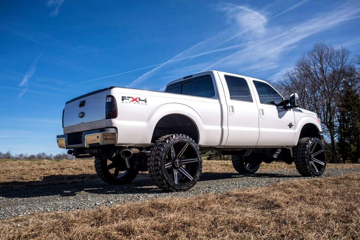 Tuff Tuff T12 Wheels  on Ford F250