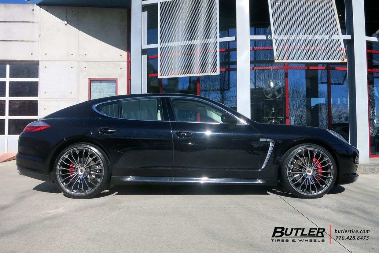 Victor Equipment Victor Equipment Wurttemburg Wheels on Porsche Panamera