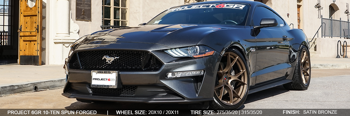 Project 6GR Mustang EcoBoost / Shelby GT350 / Shelby GT500 / GT