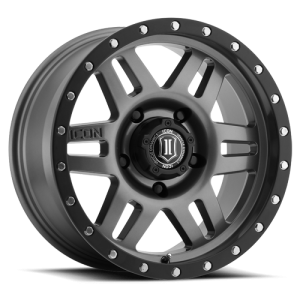ICON Alloys Six Speed Gunmetal