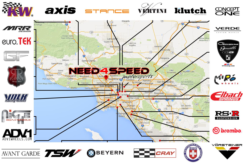 N4SM Vendor's Map